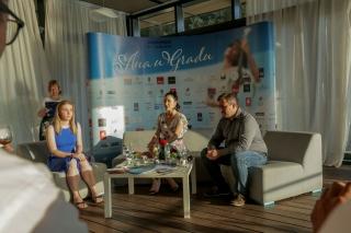 """Ana Rucner - Press event """"Ana u Gradu"""" 2019."""