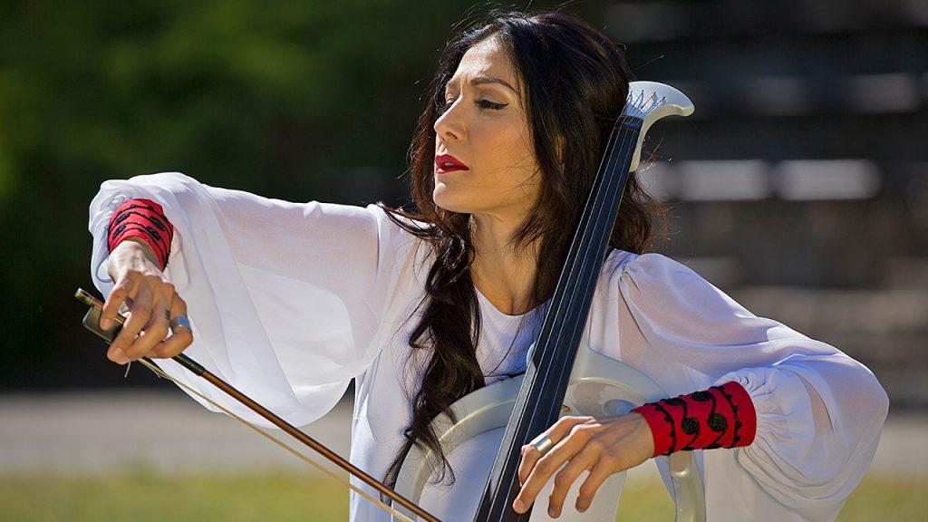 """Ana Rucner & Zagreb Philharmonic Orchestra - Nikola Tesla """"Sunny Fields"""""""